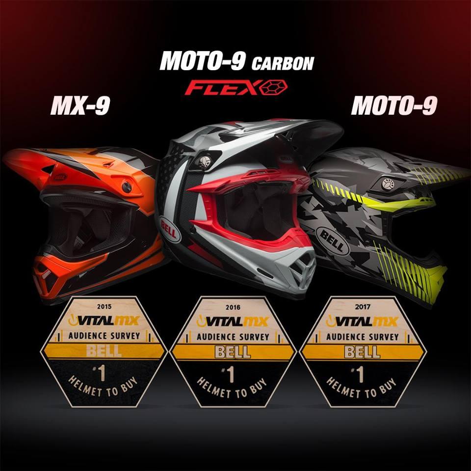 Bell Moto-9 Flex 2018
