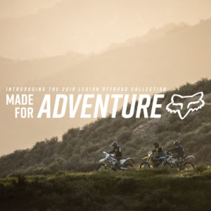 FOX Offroad Collection 2019 – Made for Adventure
