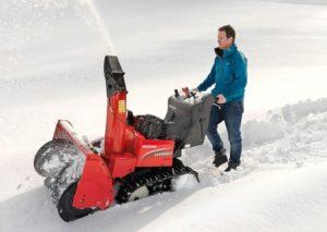 Schneeschaufel Ade! Die Honda-Schneefräsen
