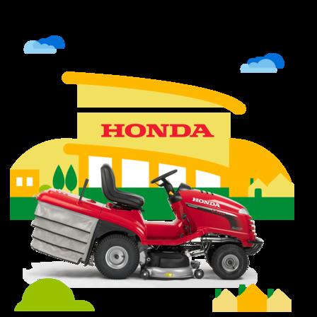 Honda Garten Equipment