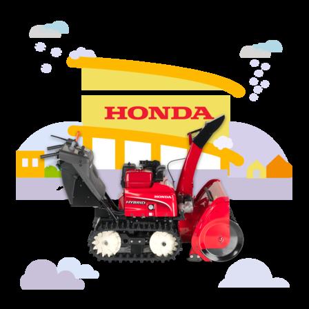 Honda Schneefräsen